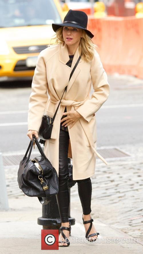 Naomi Watts out and about in New York...
