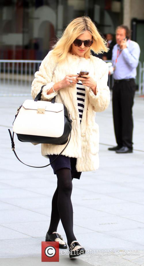 Fearne Cotton leaving the BBC Radio 1 studios