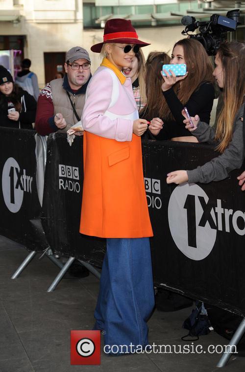 Celebrities at BBC Radio 1