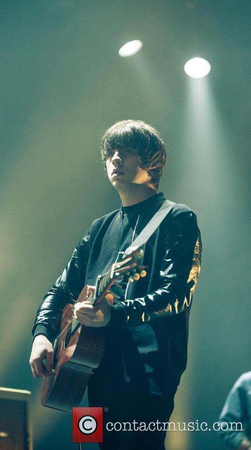 English musician Jake Bugg plays at Alexandra Palace