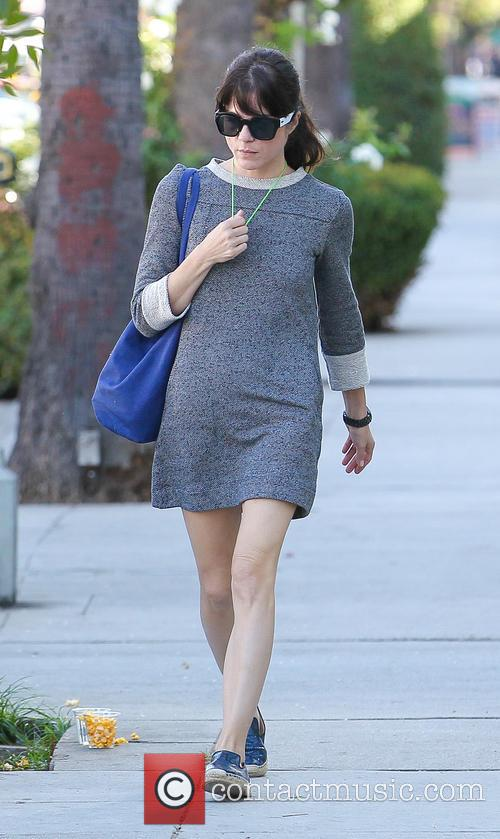 Selma Blair leaving a nail salon in Studio...