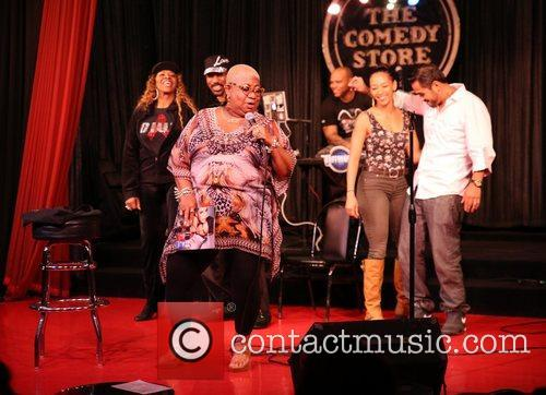 Comedian Luenell guest hosts Comedian Red Grant's 'Blackout...