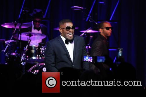 Foxx and Ray Charles