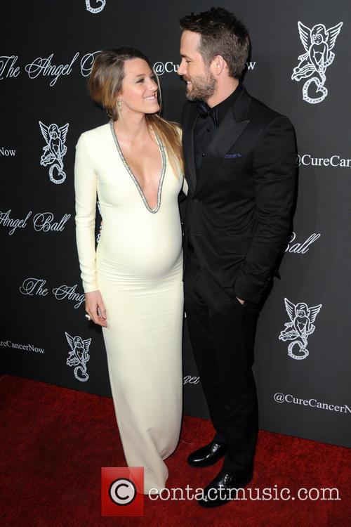 Blake Lively and Ryan Reynolds at New York's Angel Ball 2014