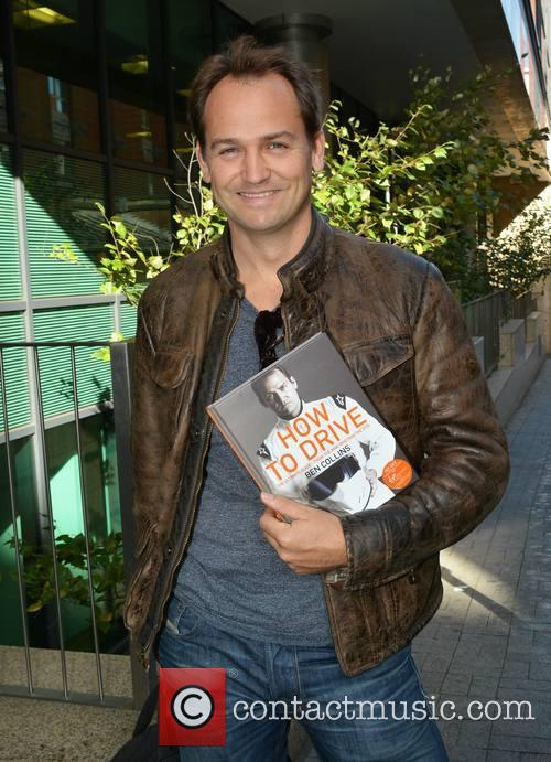 Ben Collins outside the Today FM studios