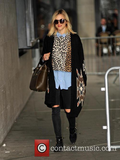 Fearne Cotton at BBC Radio 1