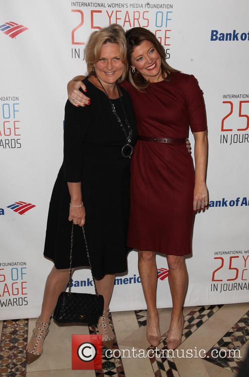 Cynthia Mcfadden and Norah O'donnell