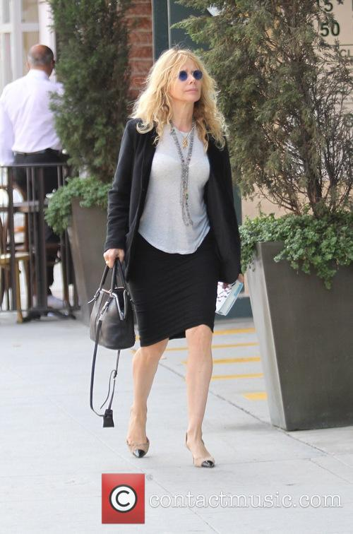 Rosanna Arquette goes shopping in Beverly Hills