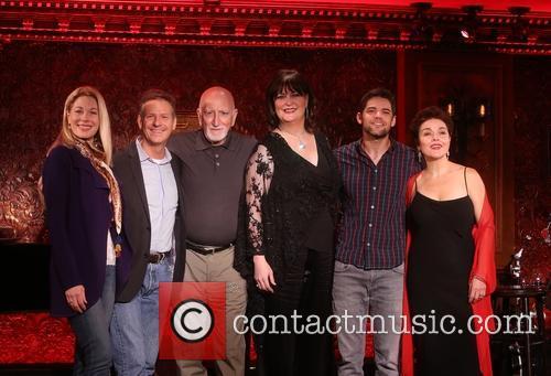 Marin Mazzie, Martin Moran, Dominic Chianese, Ann Hampton Callaway, Jeremy Jordan and Christine Andreas
