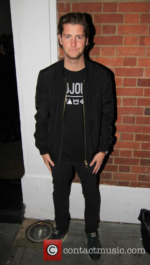 'Made in Chelsea' star Stevie Johnson attends Oliver...