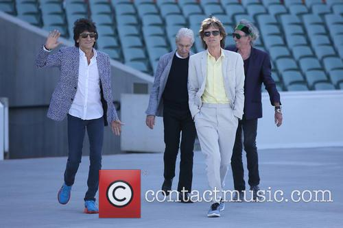 The Rolling Stones, Mick Jagger, Charlie Watts, Keith Richards and Ronnie Wood 3