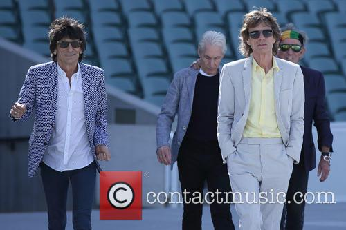 The Rolling Stones, Mick Jagger, Charlie Watts, Keith Richards and Ronnie Wood 4