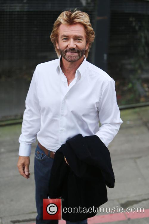 Noel Edmonds at the ITV Studios
