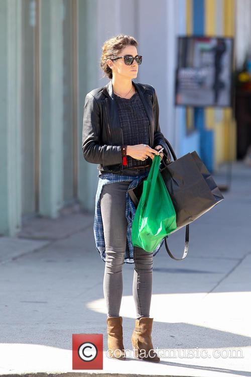 Nikki Reed shopping on Ventura Boulevard