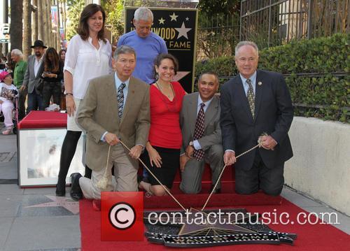 John Denver, Tom Labonge and Jesse Belle Denver 5