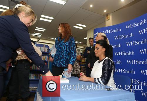 Katie Price book signing at WHSmith Maidstone