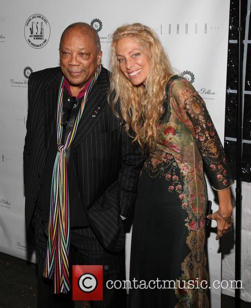Quincy Jones and Wendy Oxenhorn