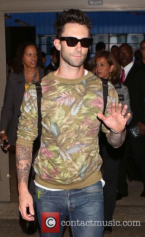 Adam Levine and Maroon 5 2