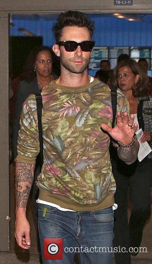 Adam Levine and Maroon 5 3