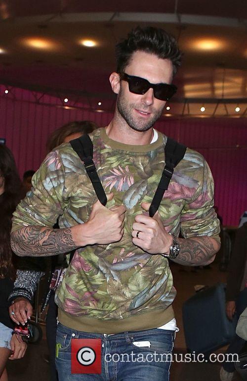 Adam Levine and Maroon 5 4