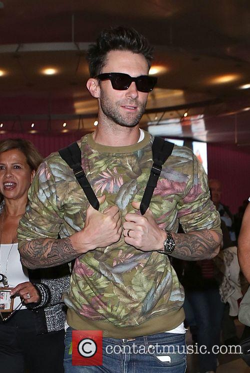 Adam Levine and Maroon 5 6