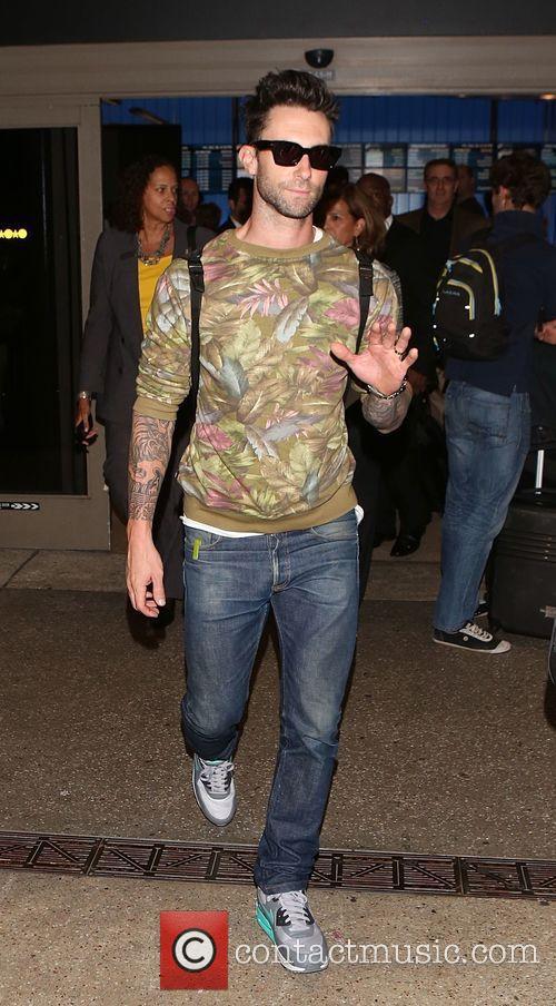 Adam Levine and Maroon 5 9