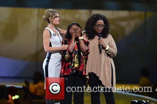 Amy Purdy, Estella Pyfrom and Oprah Winfrey 5