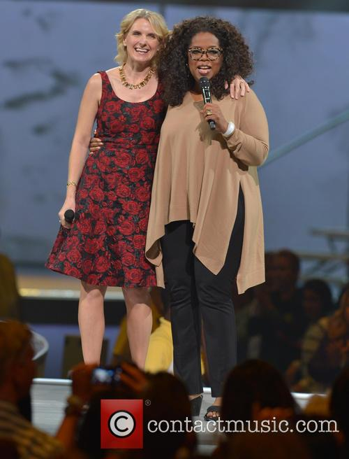 Elizabeth Gilbert and Oprah Winfrey