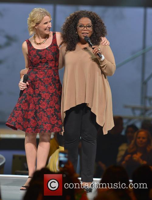 Elizabeth Gilbert and Oprah Winfrey 8