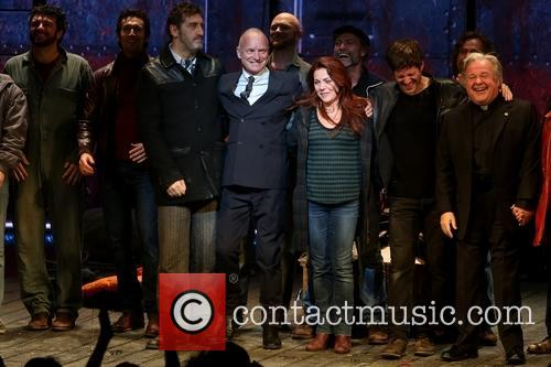 Jimmy Nail, Sting, Gordon Sumner, Rachel Tucker, Michael Esper and Fred Applegate
