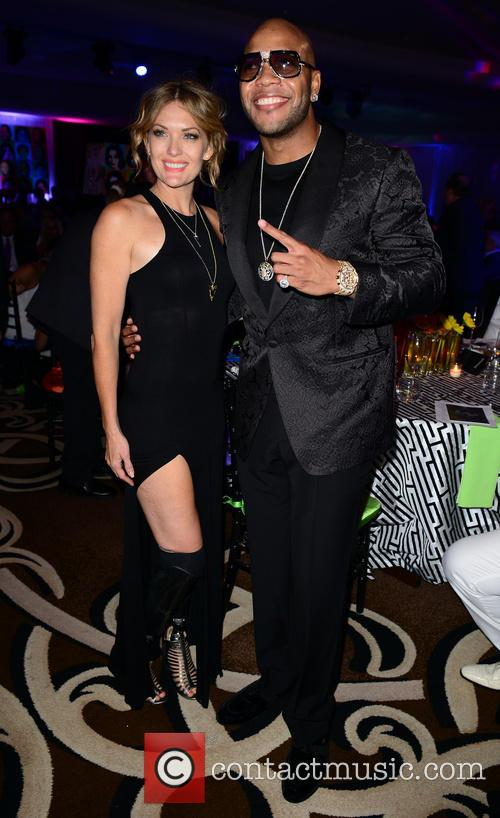 Amy Purdy and Flo Rida