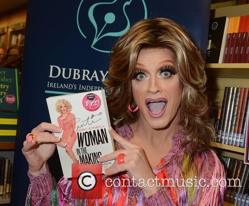 Rory O'Neill aka Panti signs his memoir 'Woman...
