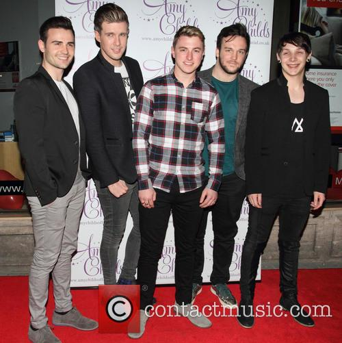 Amy Childs and Collabro 9