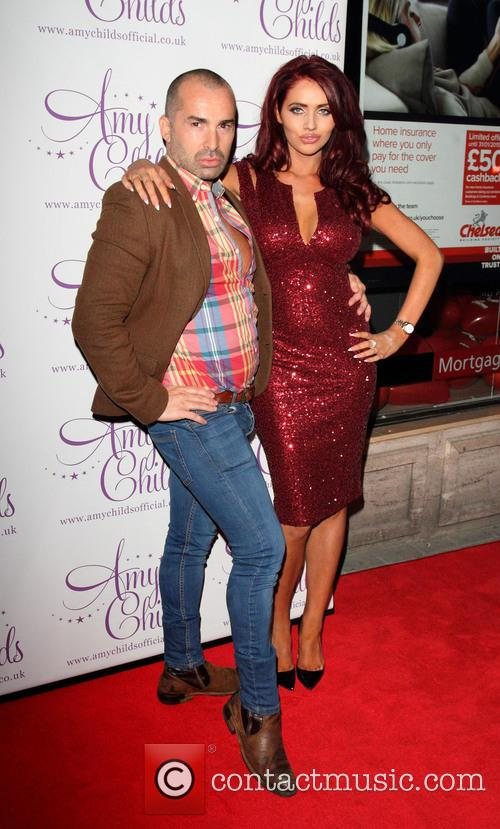 Louie Spence and Amy Childs 4