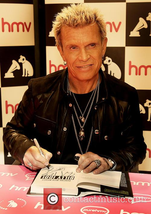 Billy Idol CD and Book Signing