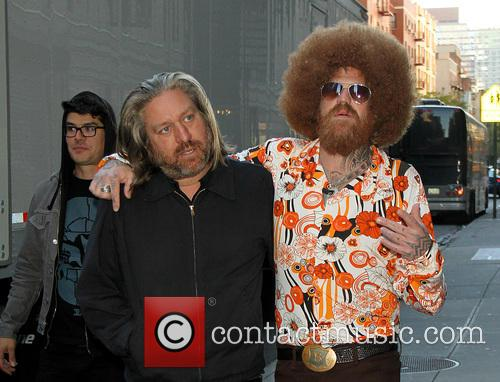 David Letterman and Brent Hinds 6