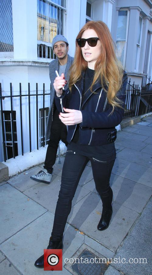 Nicola Roberts and Joel Compass