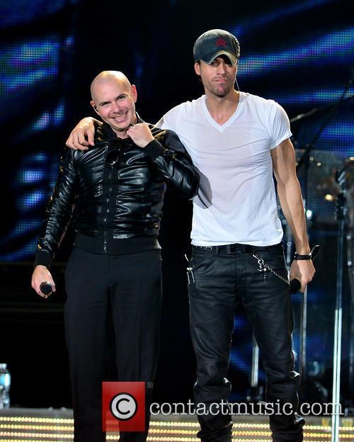 Pitbull and Enrique Iglesias 3