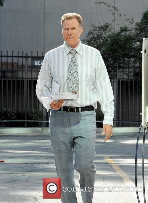 Will Ferrell spotted on the set of 'Zeroville'...