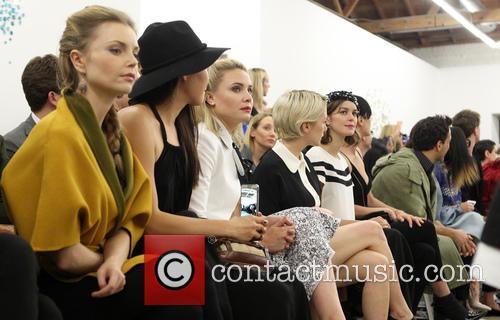 Izabella Miko, Natasha Ren, Leah Pipes, Addison Timlin and Nora Zehetner 2
