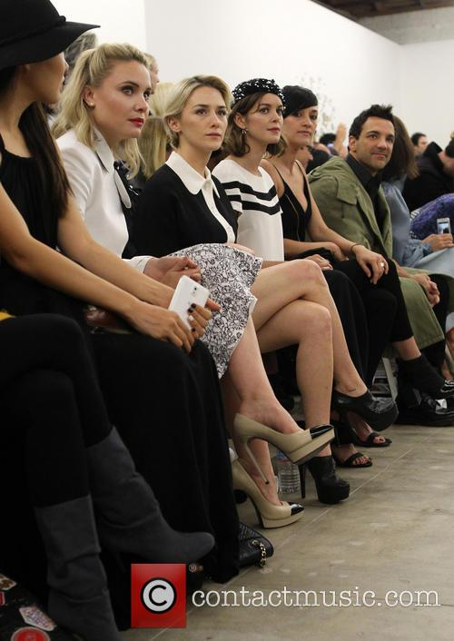 Leah Pipes, Addison Timlin, Nora Zehetner and George Kotsiopoulos 8