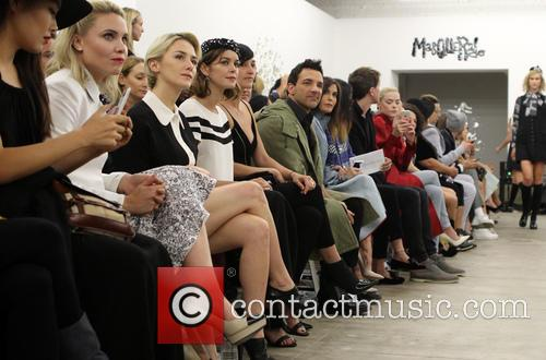 Leah Pipes, Addison Timlin, Nora Zehetner and George Kotsiopoulos 9