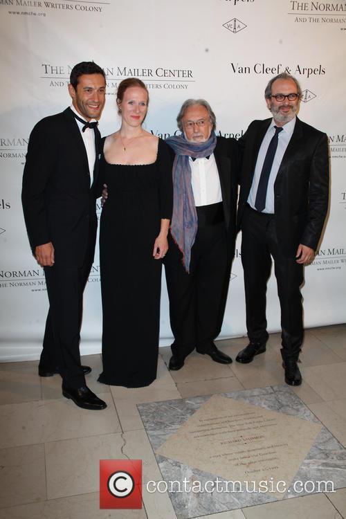 Alain Bernard, Lawrence Schiller and Claude Arpelsat 3