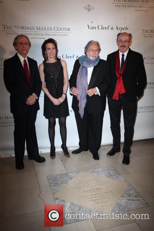 Don Delillo, Katrina Vanden Heuvel, Lawrence Schiller and Billy Collins 1