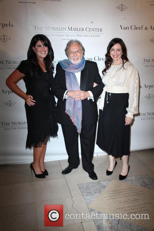 Monica Lewinsky, Lawrence Schiller and Nina Wiener Schiller