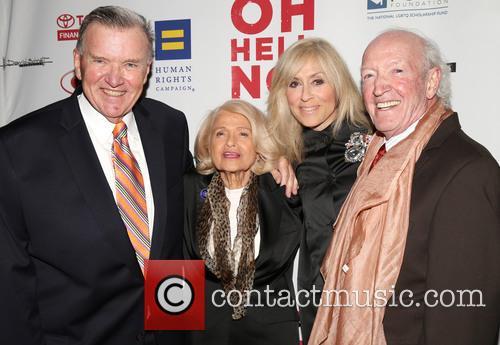 David Mixner, Edie Windsor, Judith Light and Herb Hamsher 1