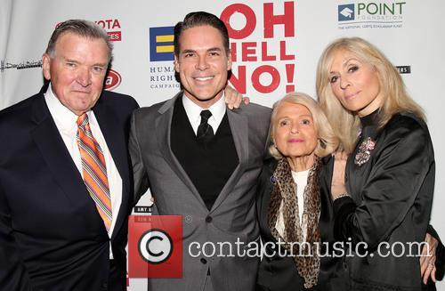 David Mixner, Jorge Valencia, Edie Windsor and Judith Light 2