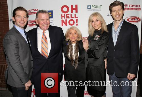 Rory O'malley, David Mixner, Edie Windsor, Judith Light and Will Reynolds 2