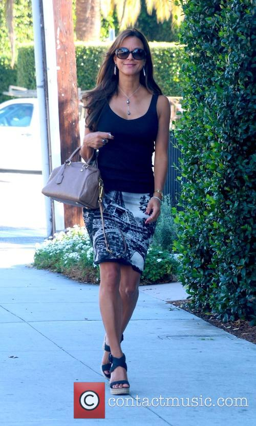 Eva LaRue out and about in West Hollywood