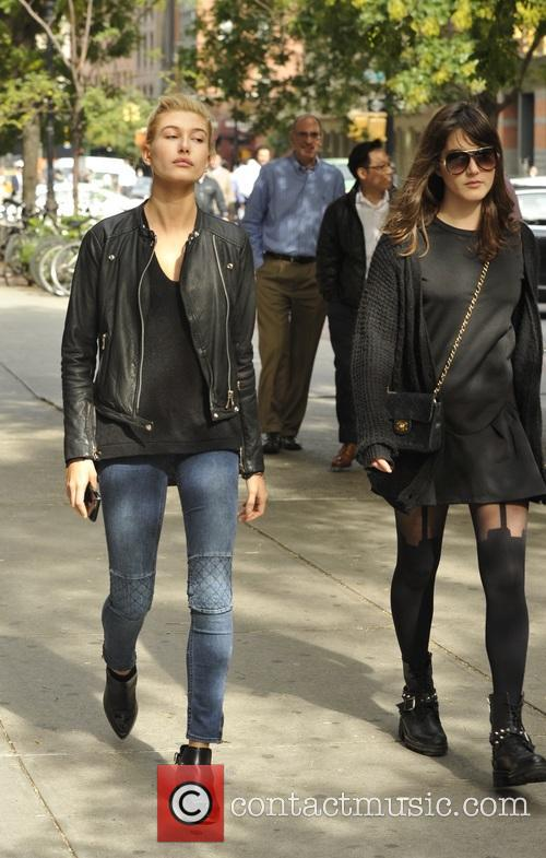 Hailey Baldwin out and about in TriBeCa